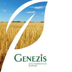 Genezis vetőmag fajtaismertető 2019-2020