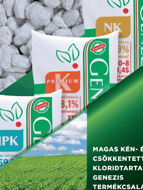 Új poliszulfát alapú Genezis termékek lassú kibocsátású kéntartalommal!