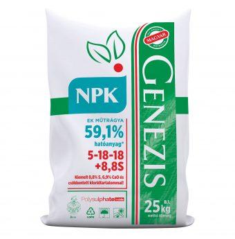 Genezis NPK 5-18-18+8,8 S